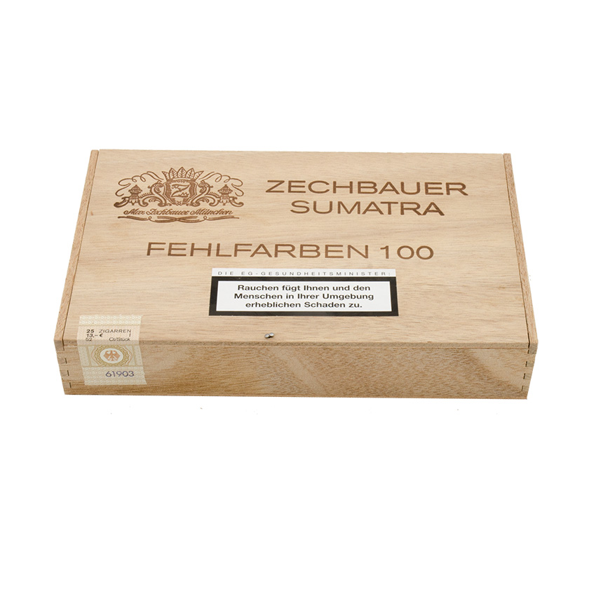 Zechbauer Fehlfarbe No. 100 Sumatra