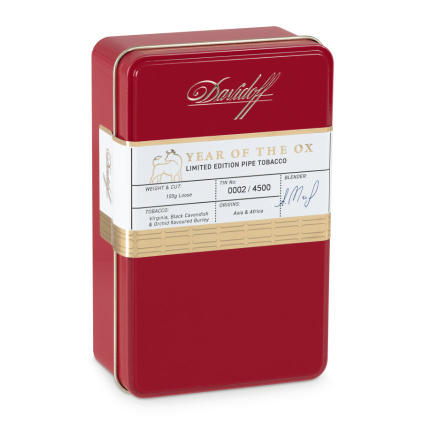 "Davidoff ""Year of the Ox"" Pfeifentabak"