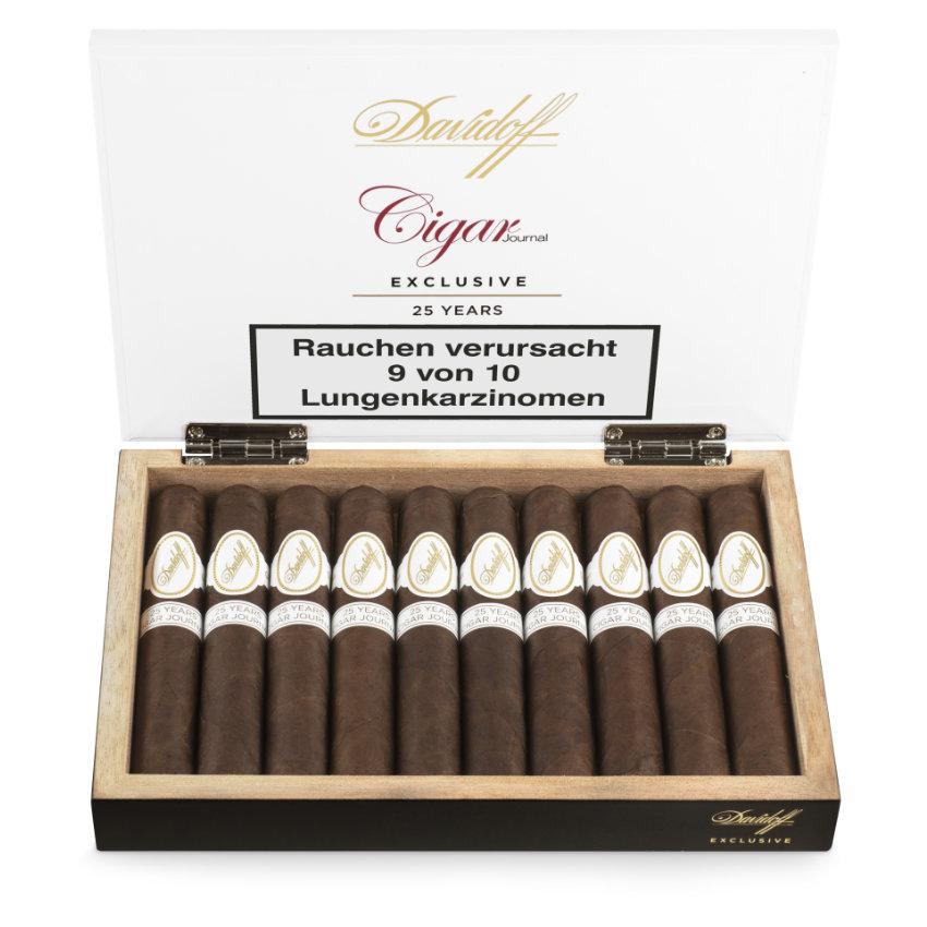 Davidoff Exclusive Cigar Journal 25 Years