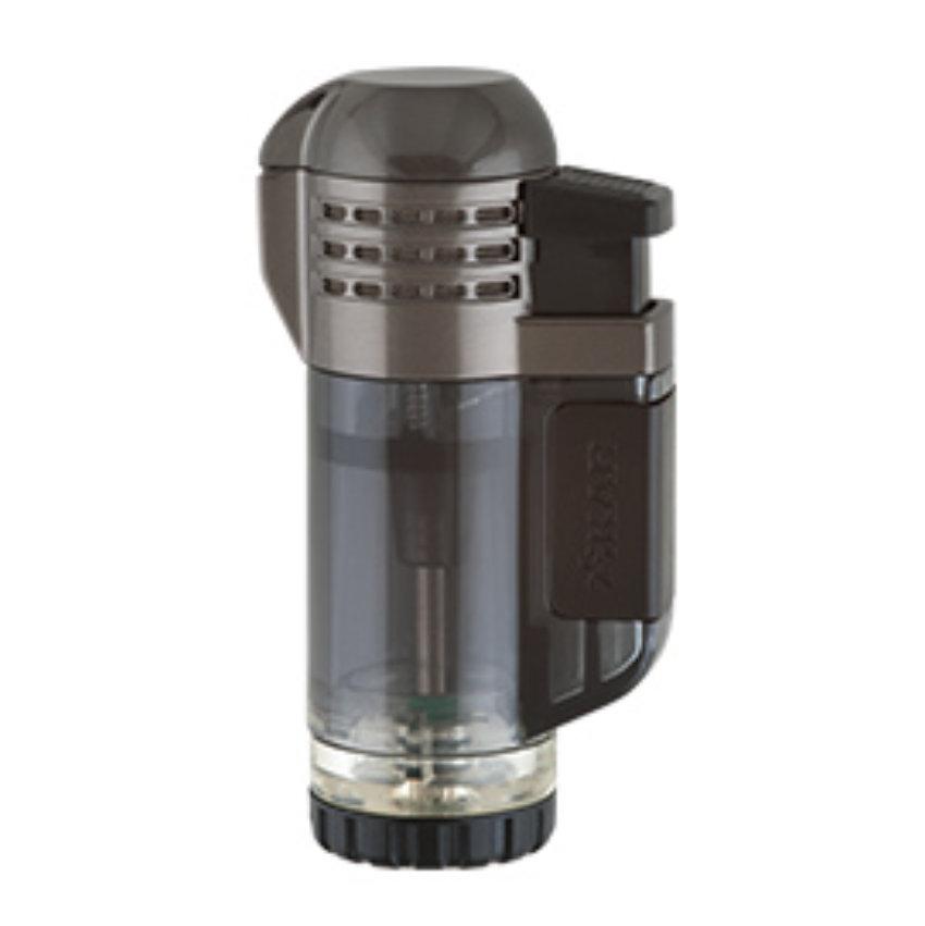 Xikar Feuerzeug Tech-Lighter Triple (schwarz)