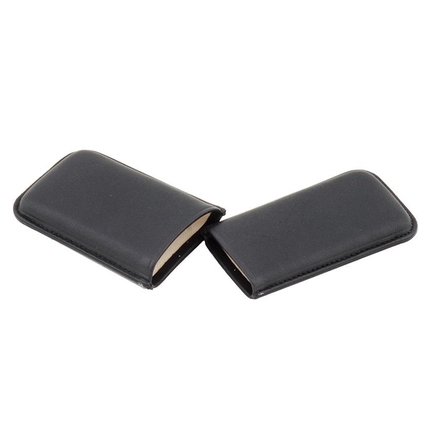 Wess Design Zigarillo-Zigarrenetui Leder (schwarz)