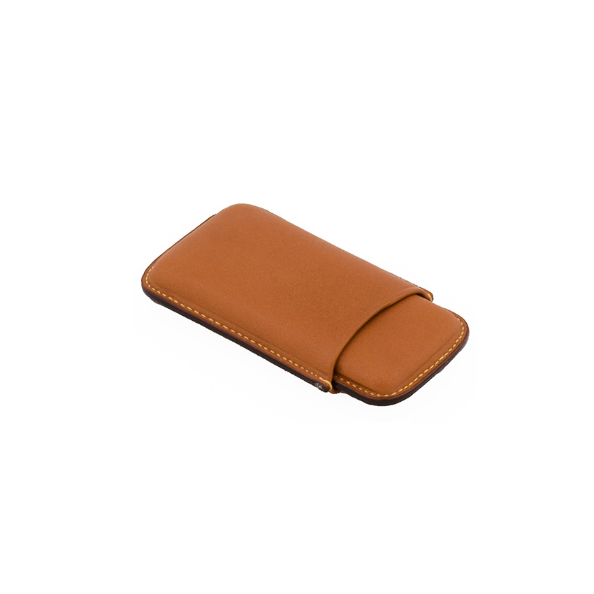 Wess Design Zigarillo-Zigarrenetui Leder (braun)