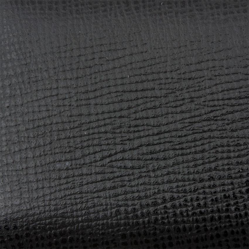 Wess Design 3er Zigarrenetui Leder Robusto (schwarz)