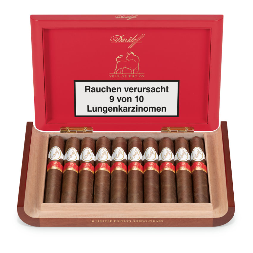 """Davidoff """"Year of the Ox"""" Limited Edition 2021"""